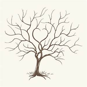 26 images of big printable fingerprint tree template With friendship tree template