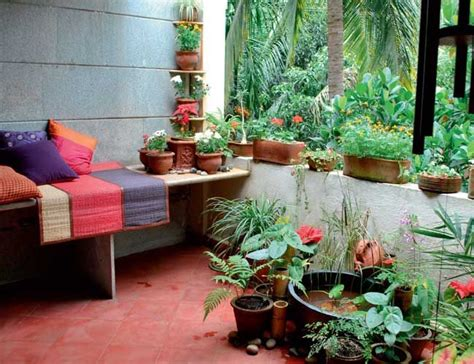 Home Design Ideas Decorating Gardening by Garden In Apartment Balcony My Interior