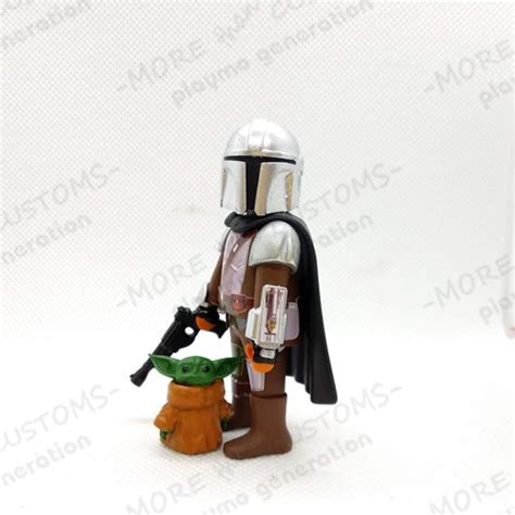The Mandalorian | Baby Yoda | Custom Playmobil | Playmo ...