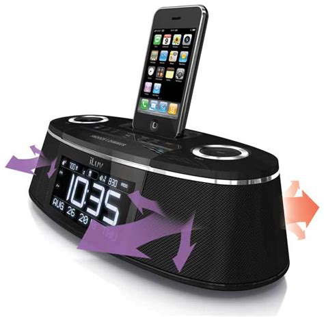 iluv dual alarm clock amazon com iluv vibe plus bed shaker dual alarm clock