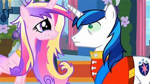 My Little Pony Cadence And Shining Armor Wedding
