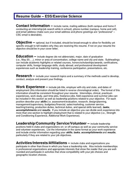 Resume Objective For Business Internship by Sle Resume Objectives Resume Badak