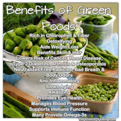 Benefits Of Green Foods