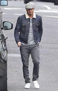 David Beckham Jeans Jacket