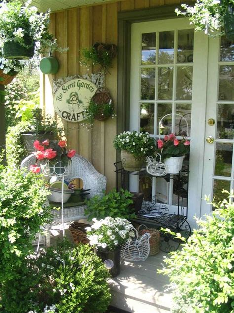 shabby chic garden decorating ideas shabby chic outdoor ideas designs hen chick shabby chic heavy metal decorative containers