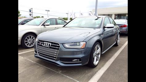 2014 Audi S4 Quattro S Tronic Startup, Exhaust And In