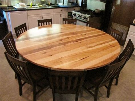 Rustic Elements Furniture...round Hickory 4 Post Pedestal