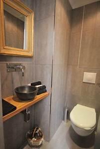 Deco Wc Gris : belle d coration toilettes gris wa wa d coration toilettes toilettes et decoration wc deco ~ Melissatoandfro.com Idées de Décoration