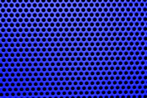 shaped tile blue mesh with holes texture picture free