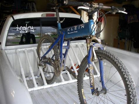 diy truck bed bike rack good ideas pinterest
