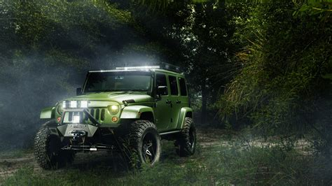 Jeep Wrangler Off Road Wallpaper