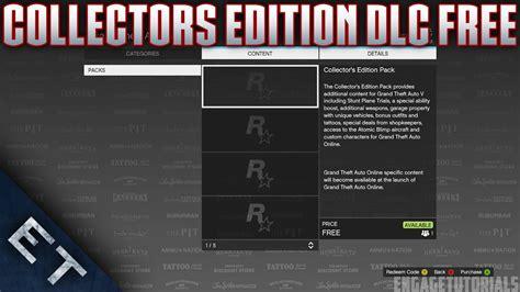 gta       collectors edition dlc