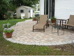 Adding Pavers To Concrete Patio Decorate To Install Paver Patio Ideas HomeoOfficee Com