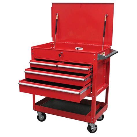 4 drawer tool cart 4 drawer locking top service cart sunex tools 8054