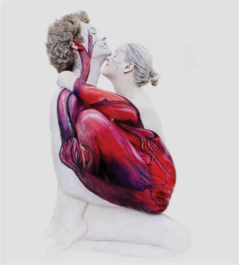 unbelievable body art  gesine marwedel turns people