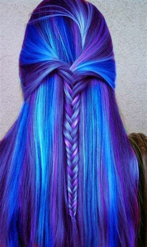 Cool Hair Color Shades by Thats A Pretty Hair Color I Want Purple Cool Aid Dyed