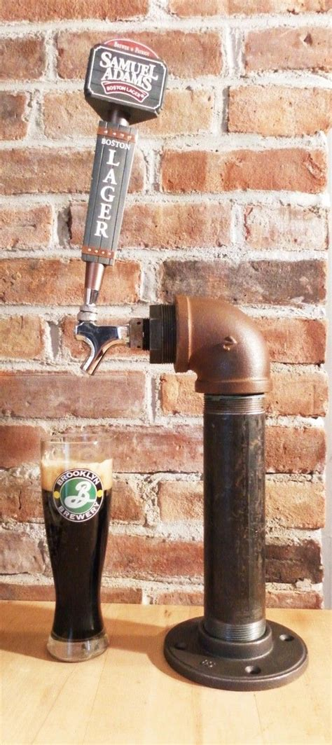 Home Bar Tap by Custom Draft Tower 10 Or 12 Tap T Style Black Iron