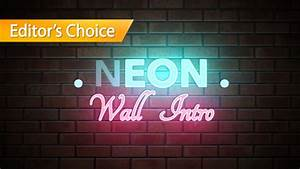 neon wall title final cut pro x template With free final cut pro intro templates