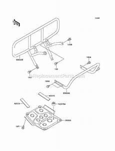 Kawasaki Klf220-a14 Parts List And Diagram