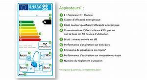 Classe Energie G : aspirateurs comment lire l 39 tiquette nerg tique ~ Medecine-chirurgie-esthetiques.com Avis de Voitures