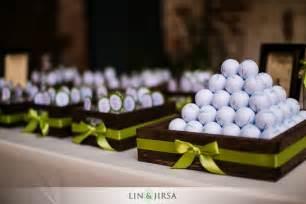 theme wedding favors golf themed wedding favors