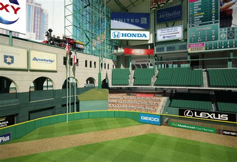 Astros Unveil Plans For New Centerfield Area At Minute