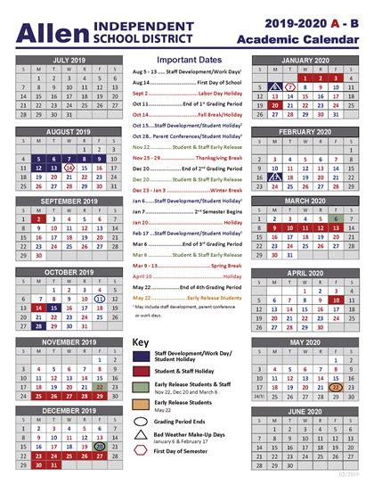 academic school year calendar academic school calendar
