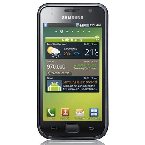 android galaxy samsung galaxy i9000 android 2 1 smartphone