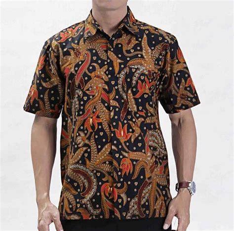 kemeja batik fesyen lelaki pakaian di carousell