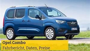 Opel Combo 2018 7 Sitzer : opel combo fahrbericht technische daten preise adac ~ Jslefanu.com Haus und Dekorationen