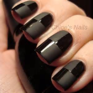 New years eve black nail art inspiration the model stage