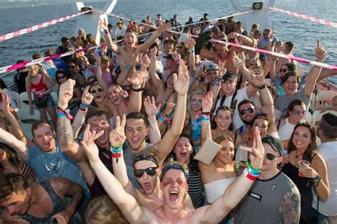 Inside wild daytime parties in Ibiza as Brits forced to ...
