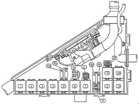 1997 Cadillac Catera Fuse Box Diagram by Cadillac Catera 1997 2001 Fuse Box Diagram Auto Genius