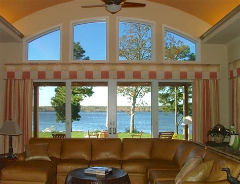 Window Treatments For Large Windows by Window Treatment Ideas For Large Windows