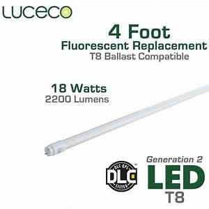 Led T8 Ballast Compatible Fluorescent Replacement Tube