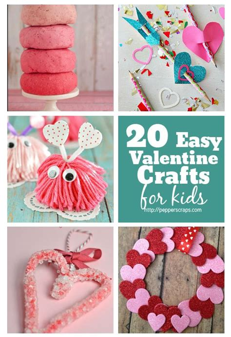 Best 25+ Easy Valentine Crafts Ideas On Pinterest