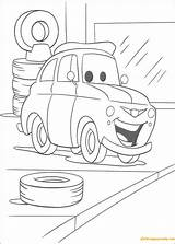 Luigi Garage Pages Coloring sketch template