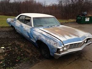 Chevrolet Impala 1967 : supernatural 1967 chevrolet impala 327 4 door hardtop ~ Gottalentnigeria.com Avis de Voitures