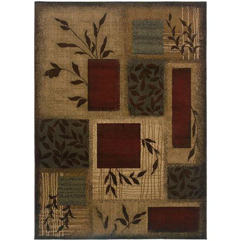 area rugs home depot home decorators collection veneer beige multi 10 ft x 13