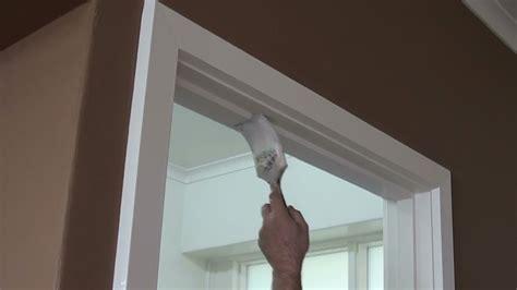How To Paint A Door Frame Or Door Jamb