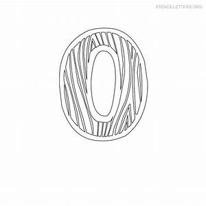 Stencil letters o printable free o stencils stencil for Letter stencils for wood