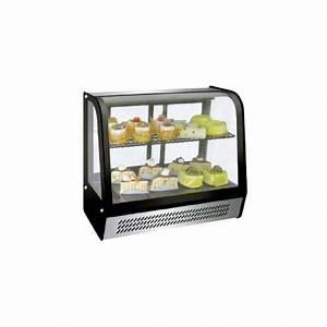 Vitrine A Poser : vitrine r frig r e de comptoir 2 niveaux poser 120 litres ~ Melissatoandfro.com Idées de Décoration