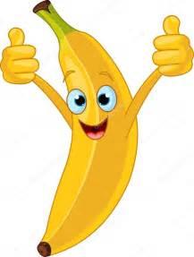 Funny Banana Cartoon Clip Art