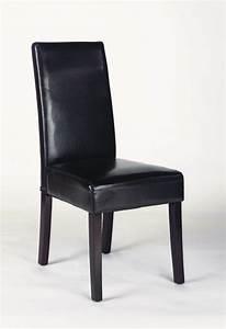 chaises de salle a manger contemporaines en pu brun lot With salle À manger contemporaineavec chaises contemporaines salle manger