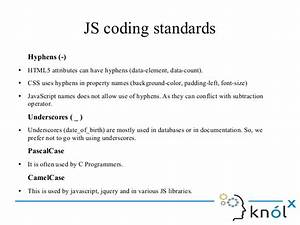 Html5  Css  Javascript Style Guide And Coding Conventions