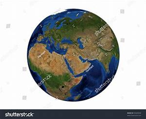 Planet Earth Middle East Data Source Stock Photo 45685096 ...