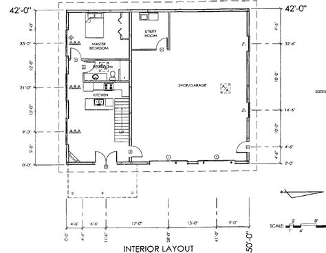 Pole Barn With Living Quarters Plans