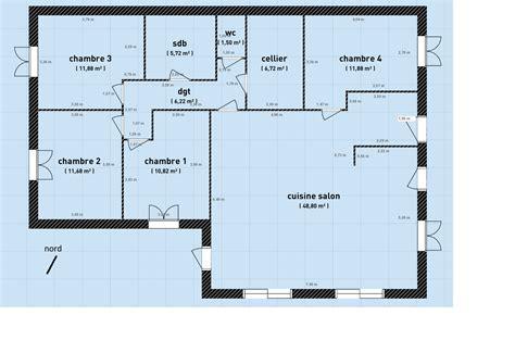 plan maison plain pied 120m2 4 chambres besoin d 39 avis plan de maison plain pied 90m 38 messages