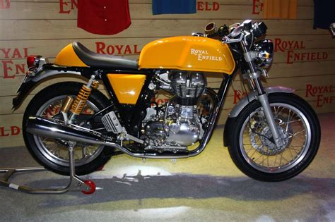 Enfield Continental Gt Image by Wallpaper Royal Enfield Continental Gt Yellow Bike Images