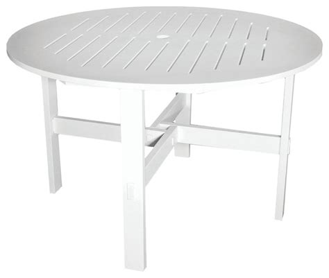 white round outdoor dining table poly concepts llc outdoor 48 quot round dining table w